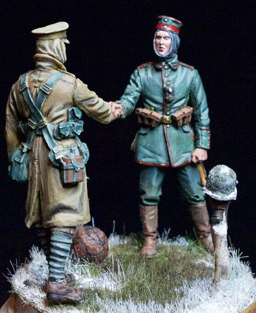 Dioramas and Vignettes: Christmas Truce, 1914, photo #2
