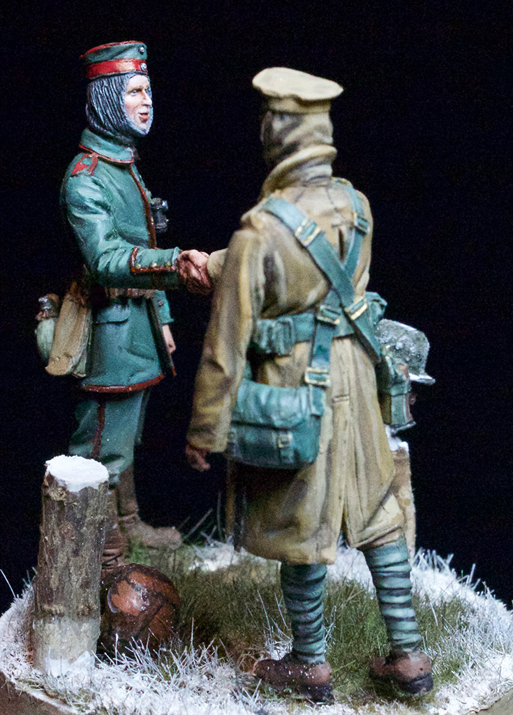 Dioramas and Vignettes: Christmas Truce, 1914, photo #3