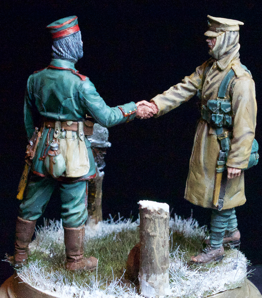 Dioramas and Vignettes: Christmas Truce, 1914, photo #4