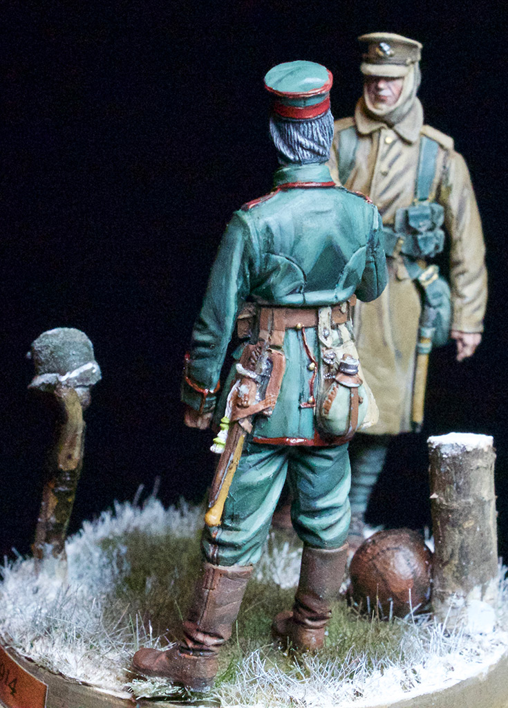 Dioramas and Vignettes: Christmas Truce, 1914, photo #5