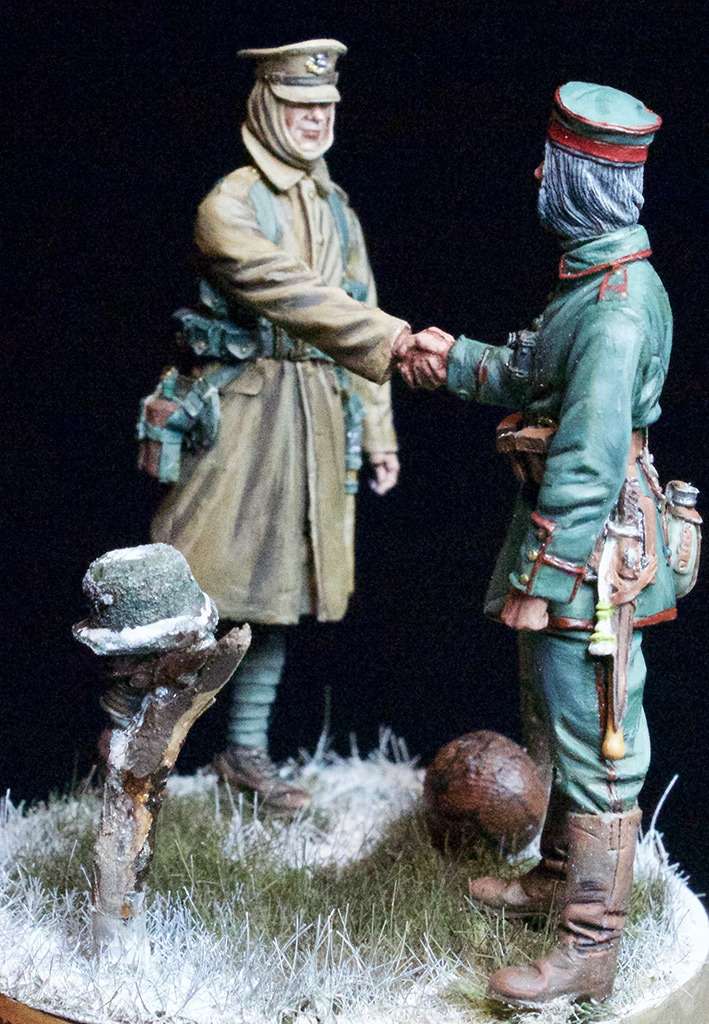 Dioramas and Vignettes: Christmas Truce, 1914, photo #6