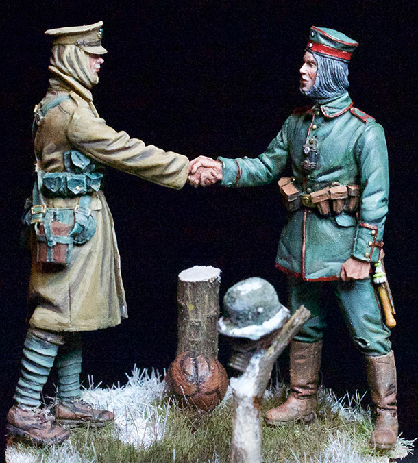 Dioramas and Vignettes: Christmas Truce, 1914