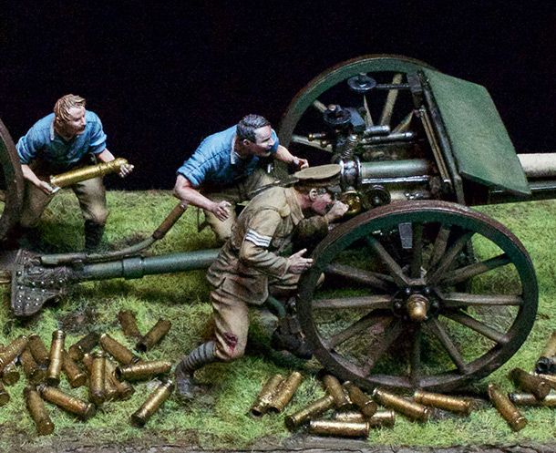 Dioramas and Vignettes: Royal mounted artillery