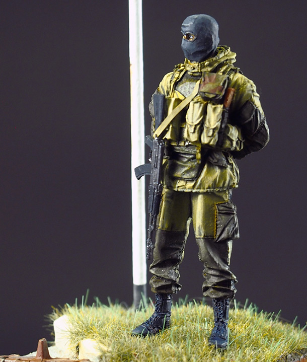 Figures: PROXI warrior