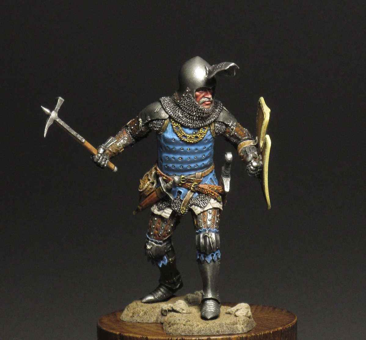 Figures: Silesian knight, photo #1
