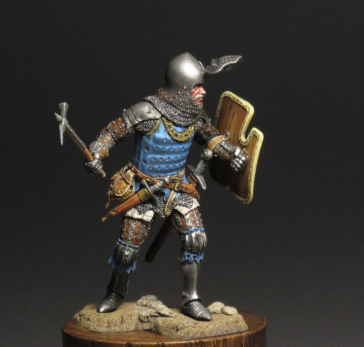 Figures: Silesian knight, photo #2