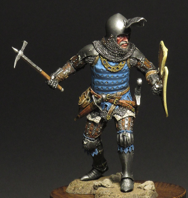 Figures: Silesian knight