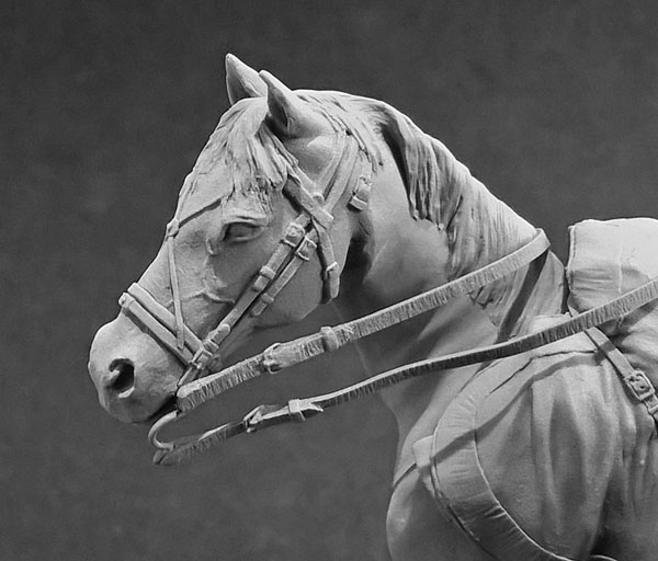 Sculpture: Bugler, army lancers regt, Russia, 1809-14, photo #12