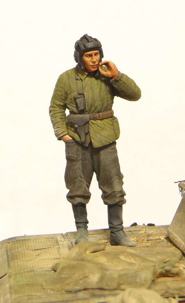 Dioramas and Vignettes: T-34-76. Crimea, 1944, photo #11