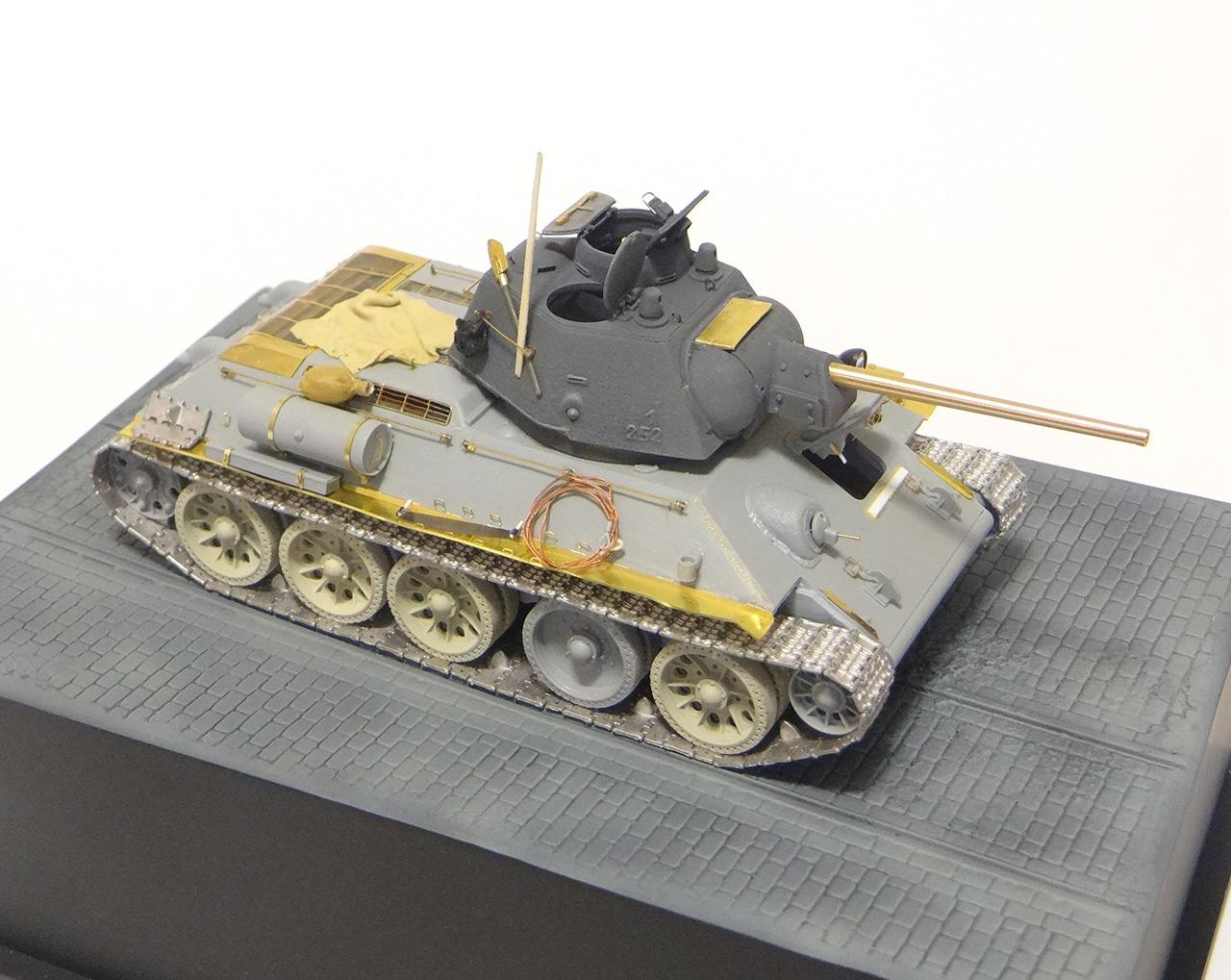Dioramas and Vignettes: T-34-76. Crimea, 1944, photo #13