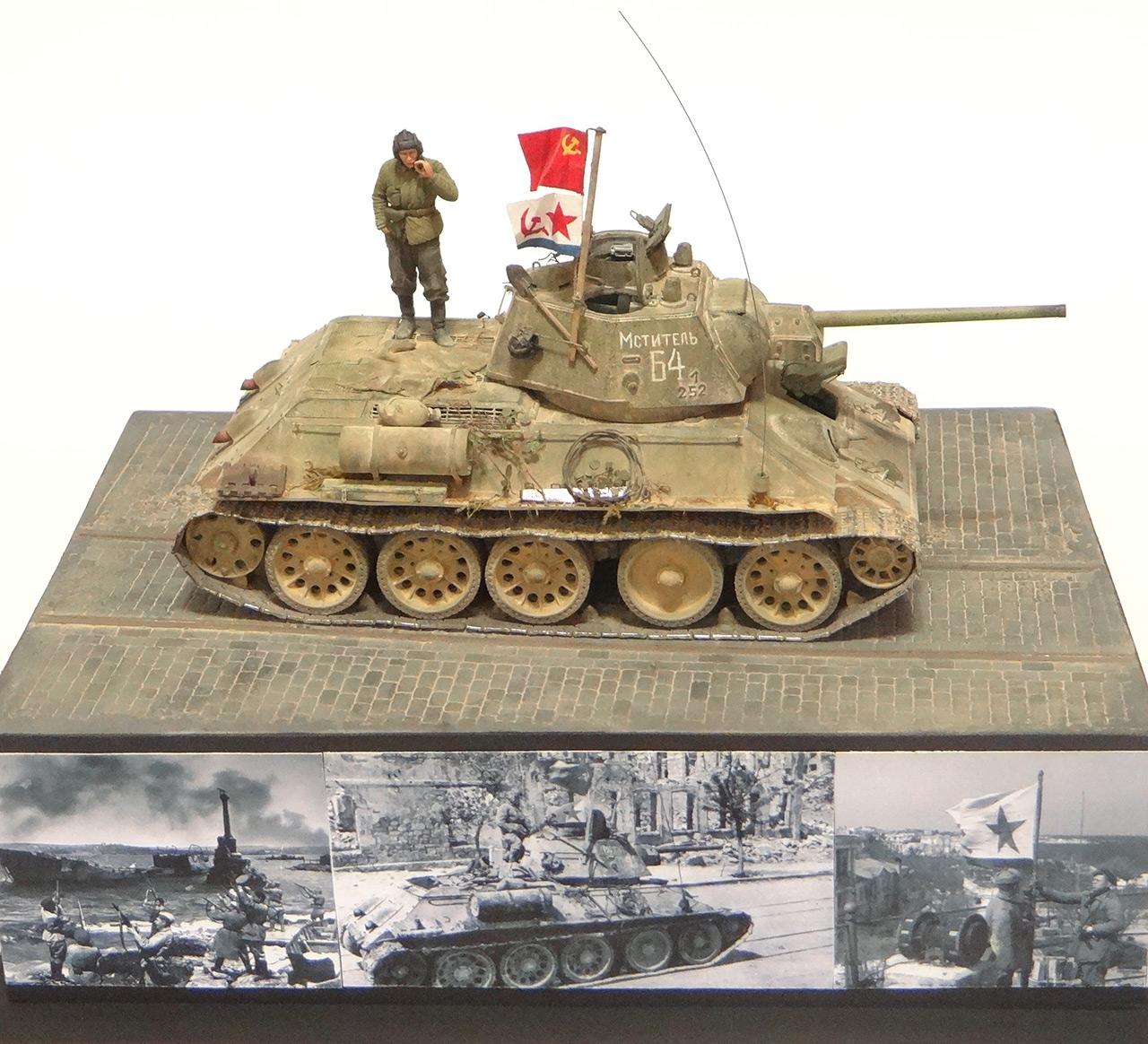 Dioramas and Vignettes: T-34-76. Crimea, 1944, photo #3