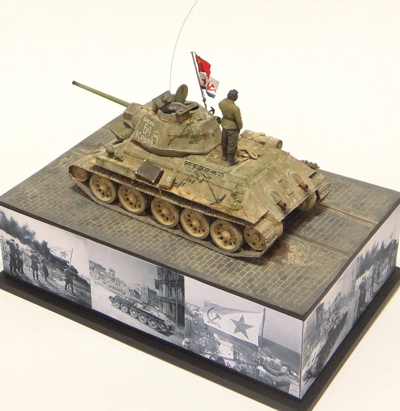 Dioramas and Vignettes: T-34-76. Crimea, 1944, photo #5