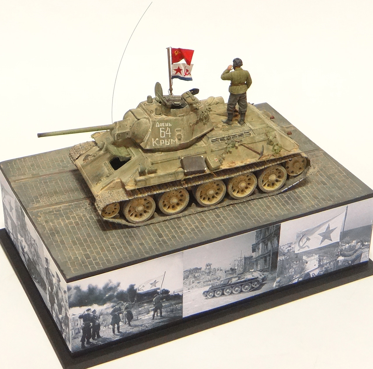 Dioramas and Vignettes: T-34-76. Crimea, 1944, photo #6