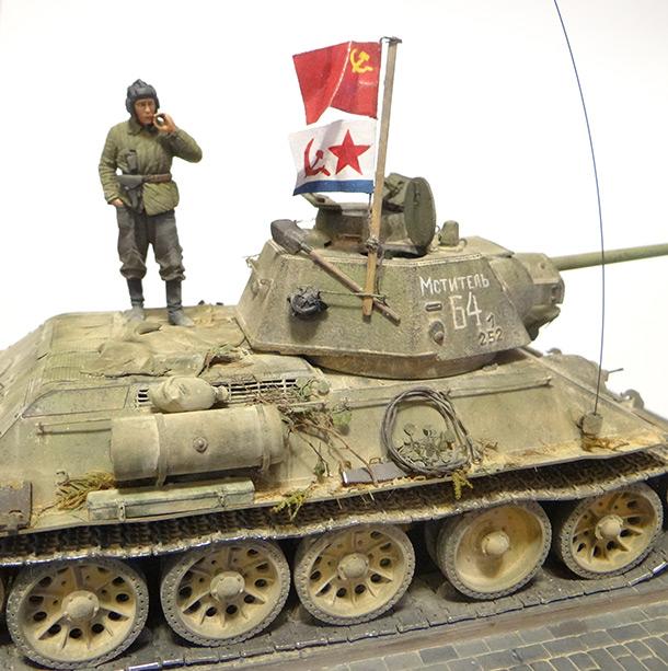 Dioramas and Vignettes: T-34-76. Crimea, 1944