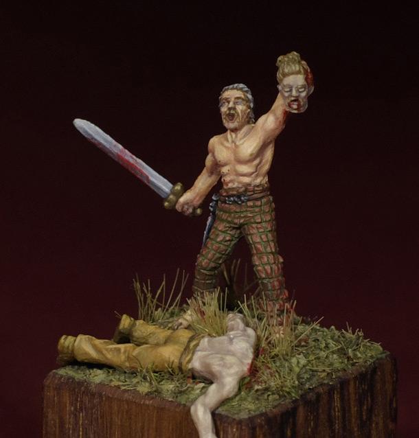 Figures: Triumphing Gaul