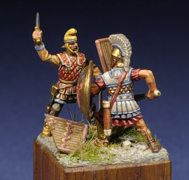 Dioramas and Vignettes: Hellenic Valor
