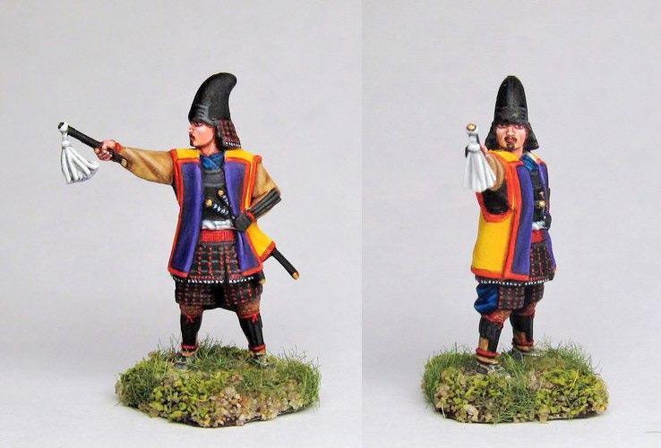 Figures: Samurai warlord, Hashiba clan, photo #1