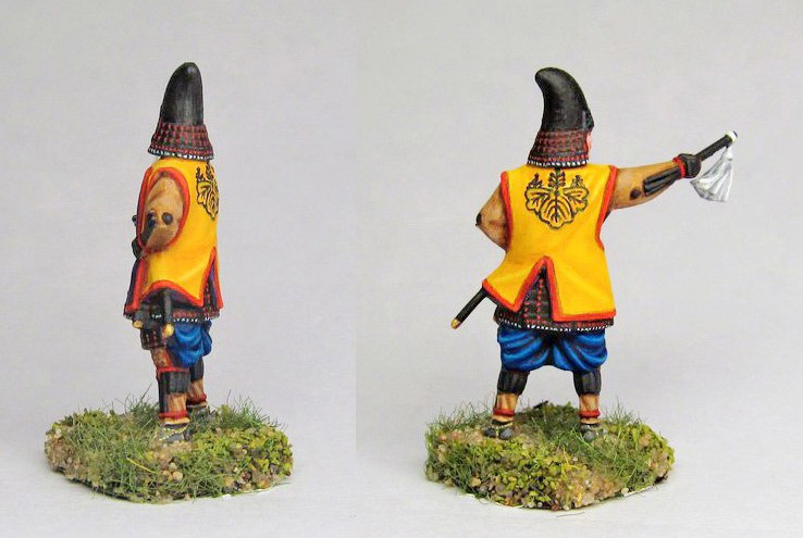 Figures: Samurai warlord, Hashiba clan, photo #2