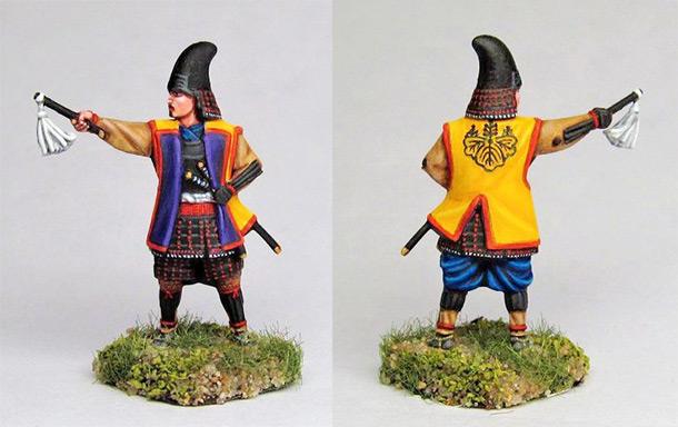 Figures: Samurai warlord, Hashiba clan