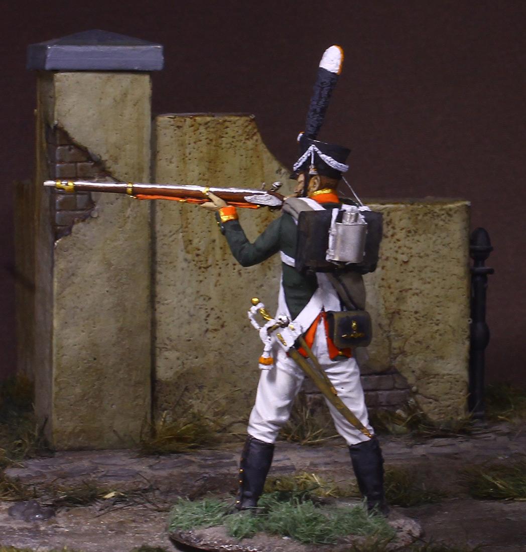 Figures: NCO, Grenadier company of Selenginsky inf. regt, 1812, photo #2