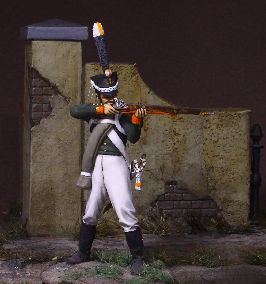 Figures: NCO, Grenadier company of Selenginsky inf. regt, 1812, photo #3