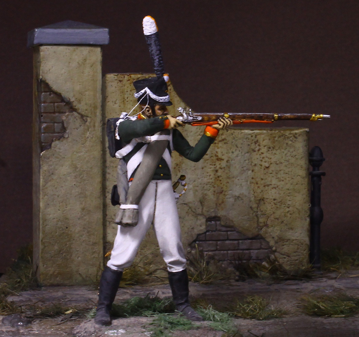 Figures: NCO, Grenadier company of Selenginsky inf. regt, 1812, photo #4