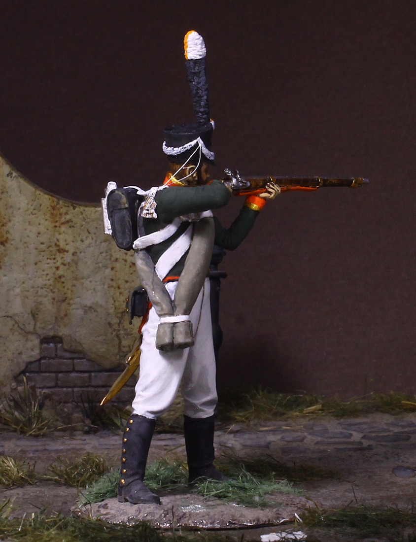 Figures: NCO, Grenadier company of Selenginsky inf. regt, 1812, photo #5