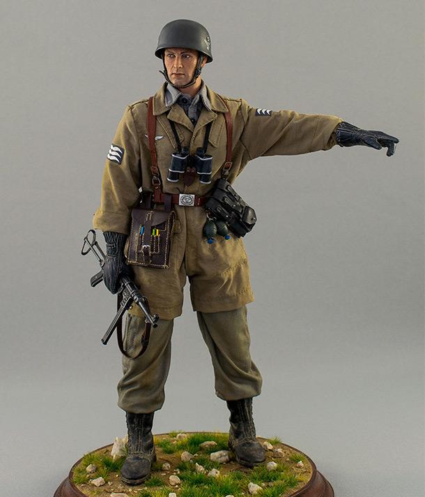 Figures: Luftwatte paratrooper. Crete, May 1941