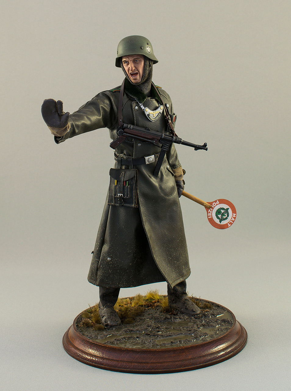 Figures: German feldgendarme , photo #2