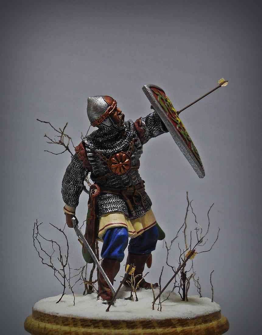 Figures: Russian warrior, XIII cent., photo #1
