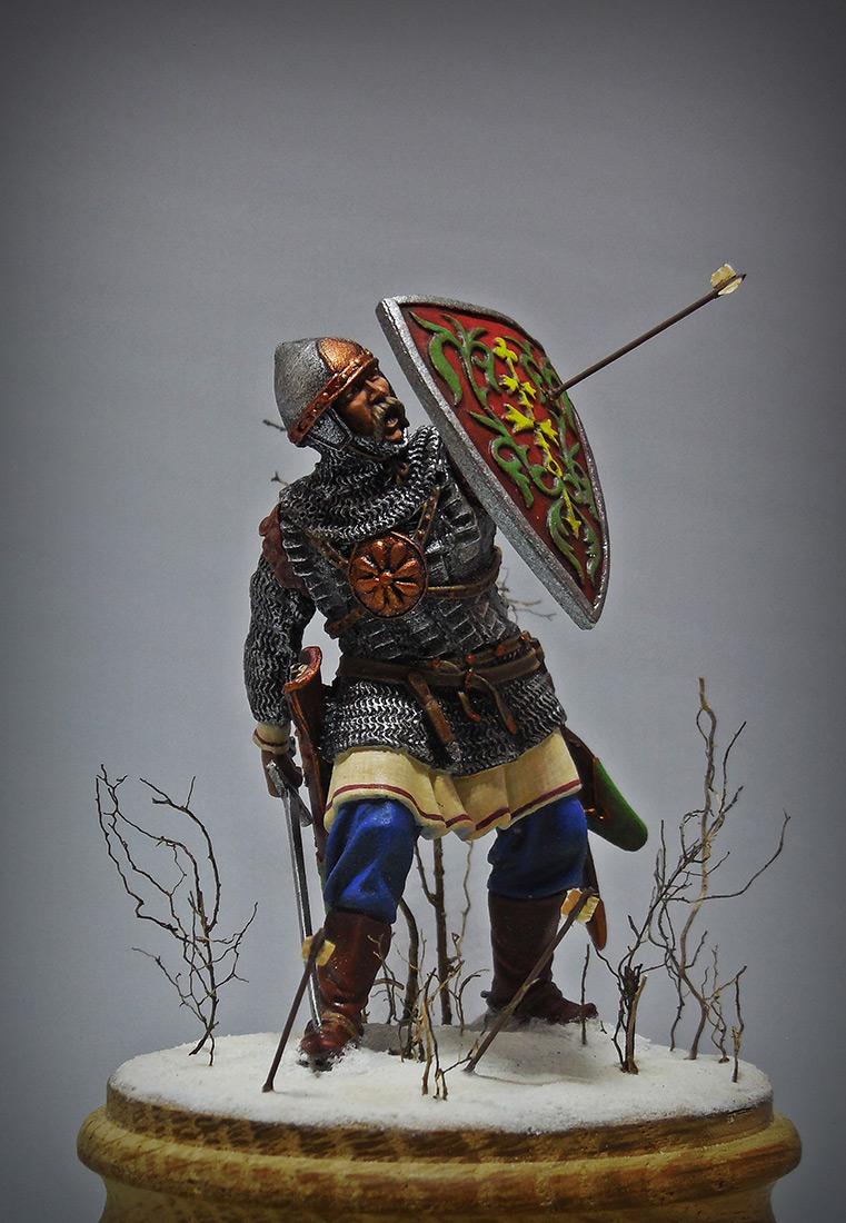 Figures: Russian warrior, XIII cent., photo #2