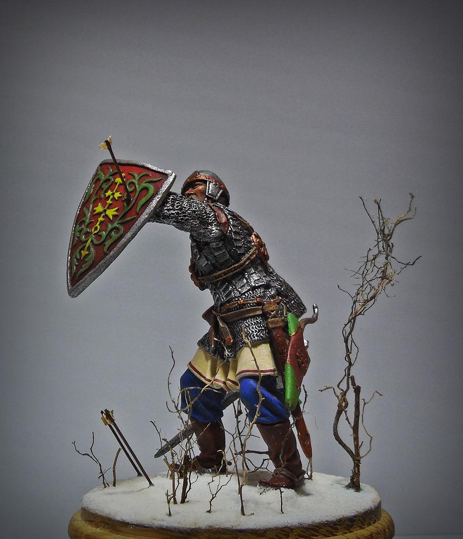 Figures: Russian warrior, XIII cent., photo #4