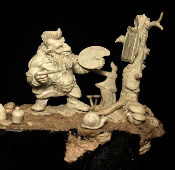 Sculpture: The Artist