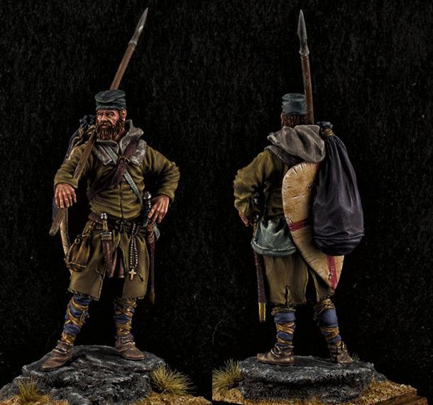 Figures: Crusader, XII cent.