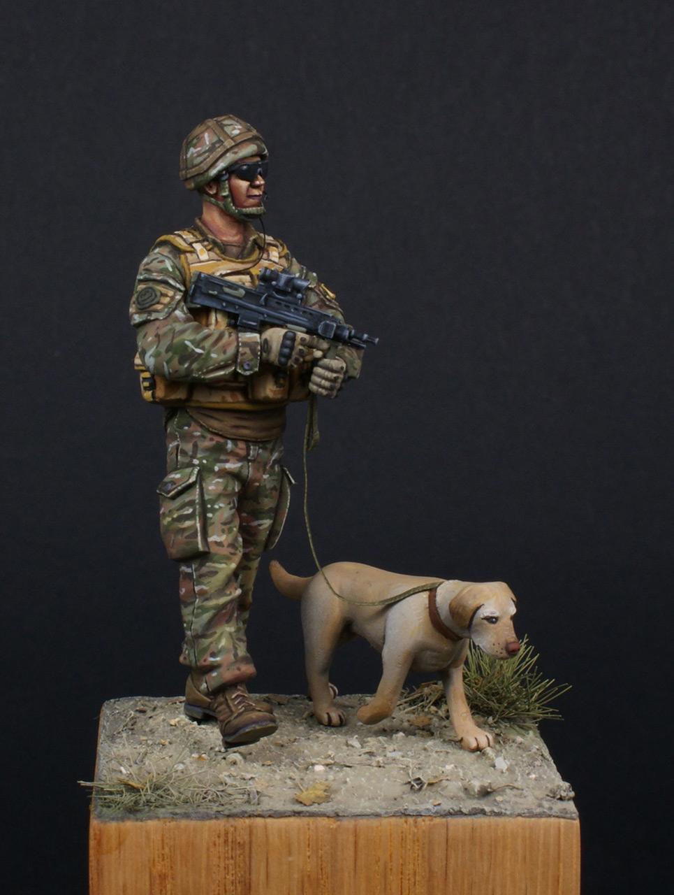 Figures: Patrol in Helmand, photo #2