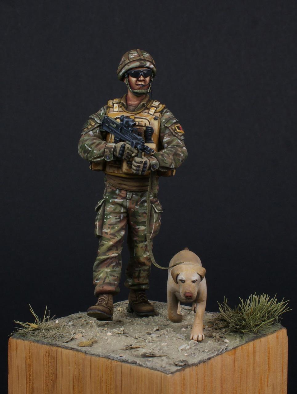 Figures: Patrol in Helmand, photo #3