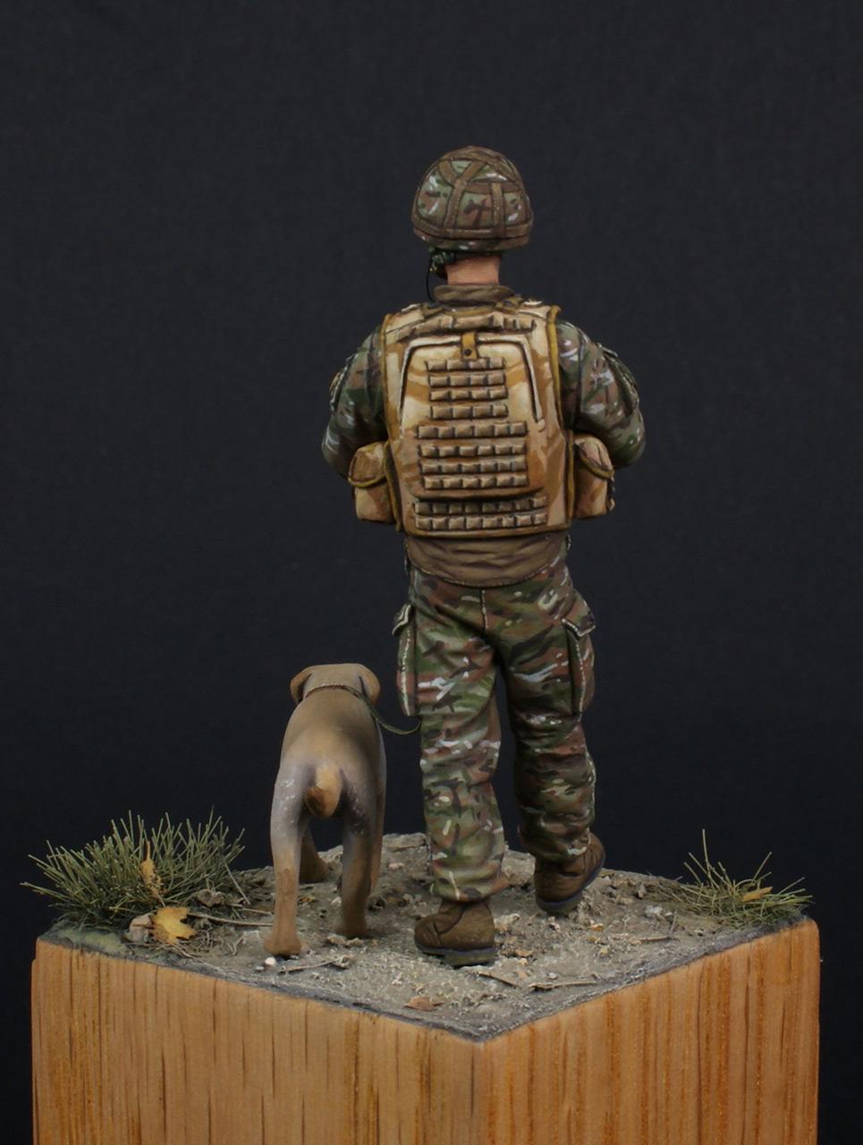 Figures: Patrol in Helmand, photo #7