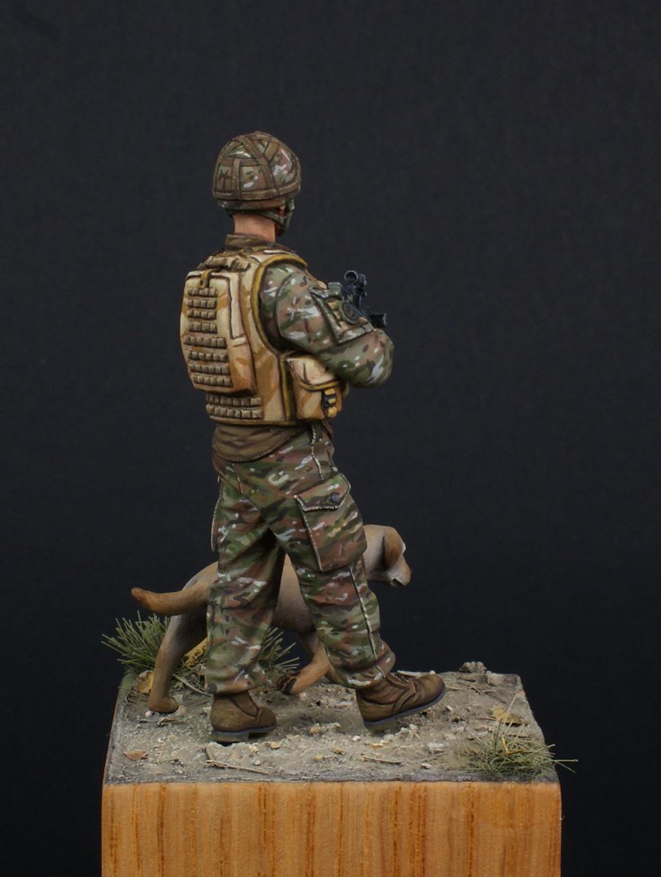 Figures: Patrol in Helmand, photo #8