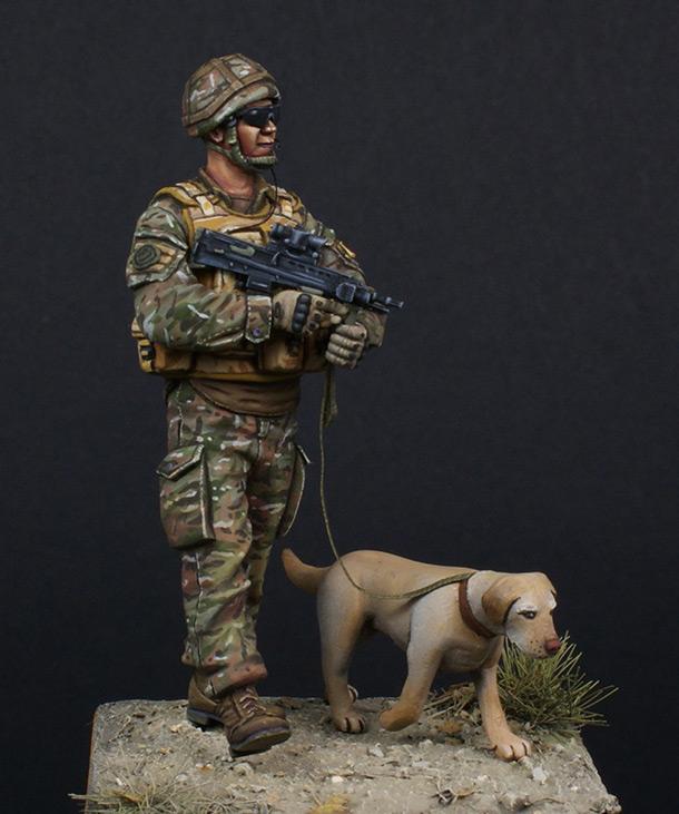 Figures: Patrol in Helmand