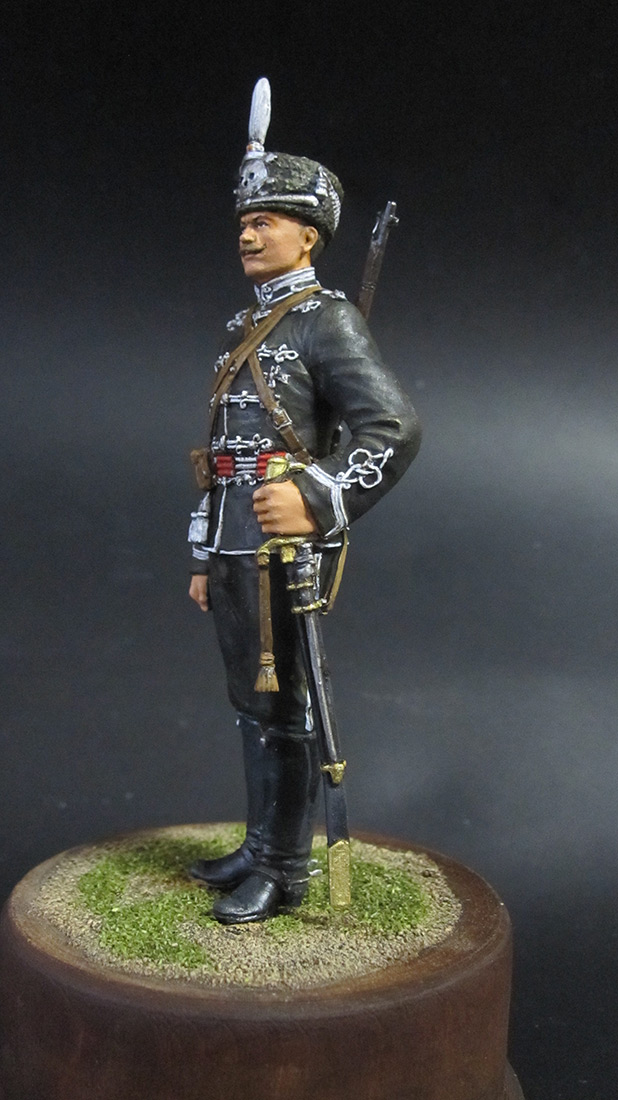 Figures: Alexandria hussar, 1914, photo #2