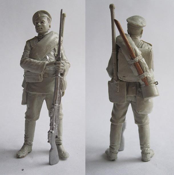 Sculpture: Cadet, Nikolaev engineer college