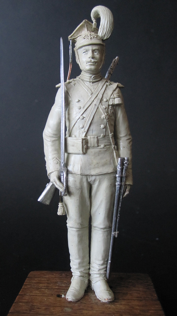 Sculpture: Private, army lancers, 1908-14, photo #1