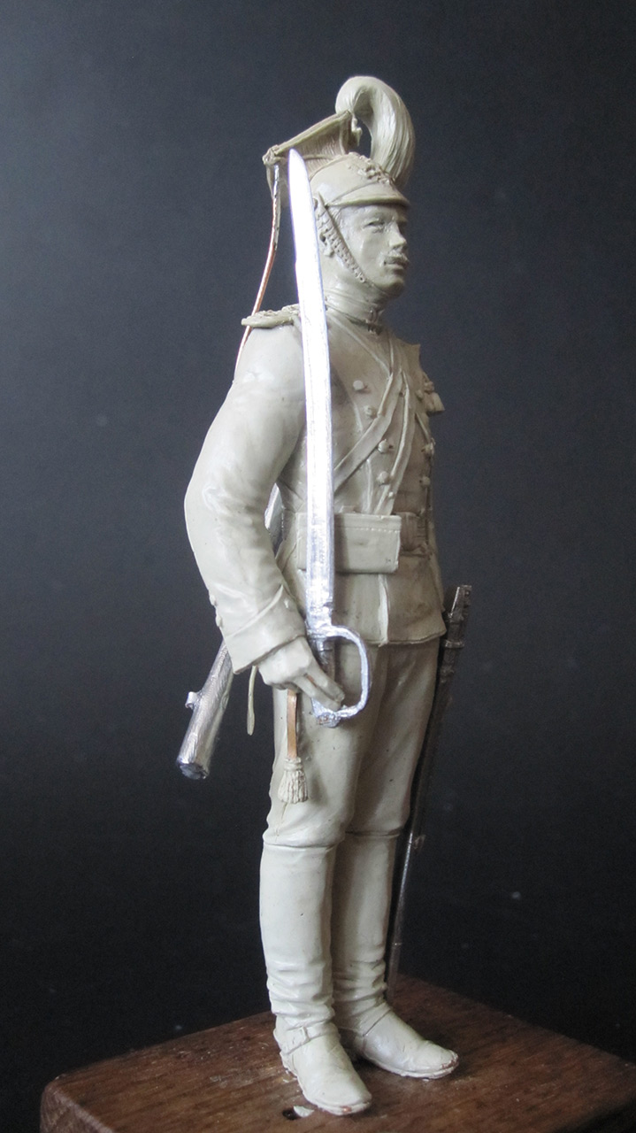 Sculpture: Private, army lancers, 1908-14, photo #2
