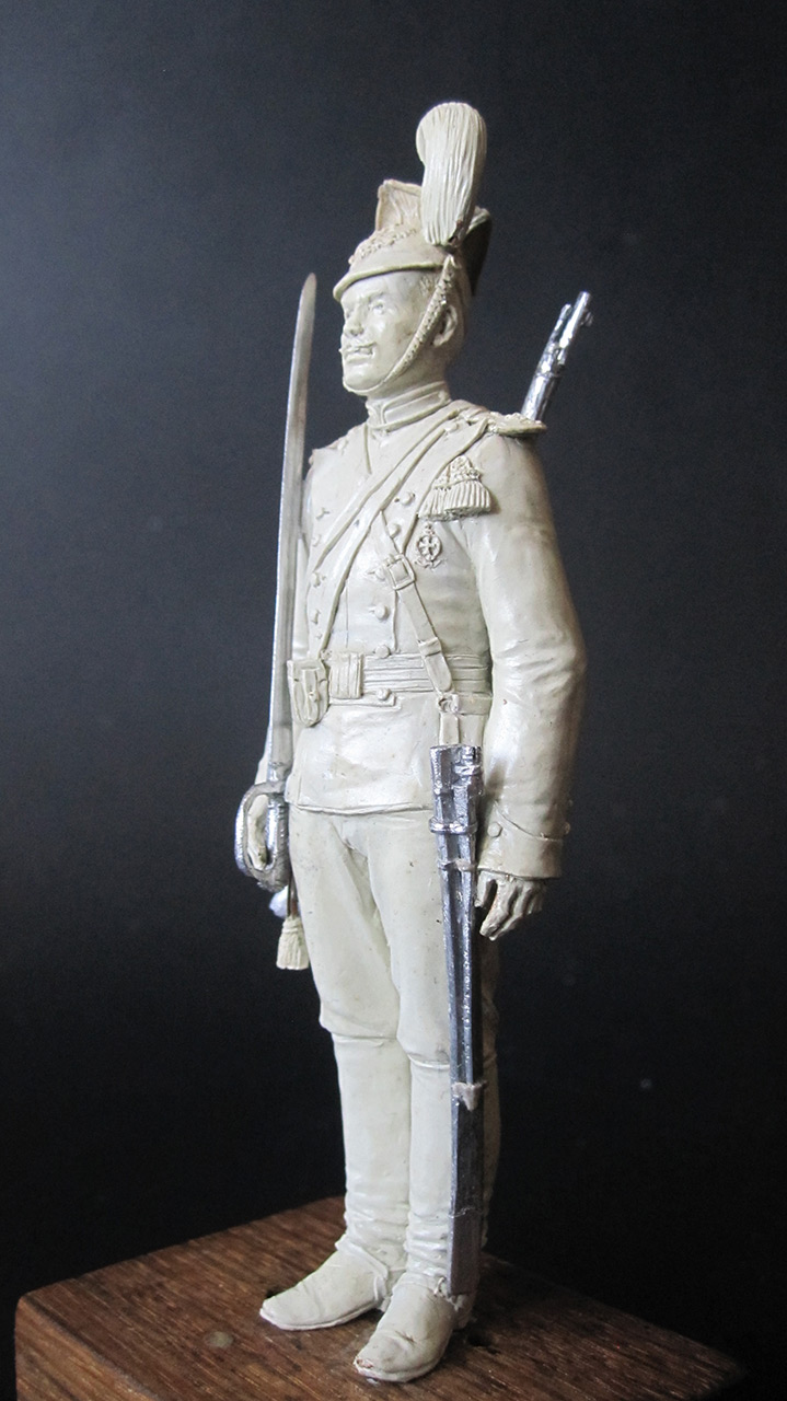 Sculpture: Private, army lancers, 1908-14, photo #3