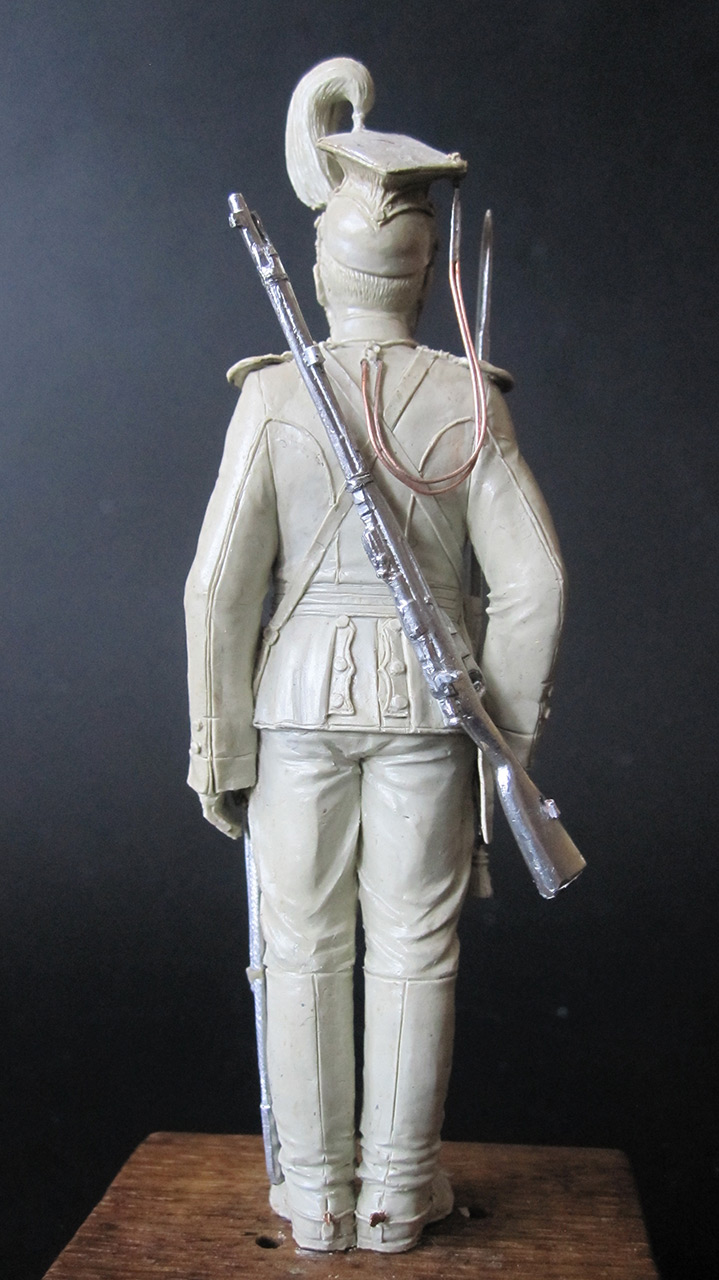 Sculpture: Private, army lancers, 1908-14, photo #4
