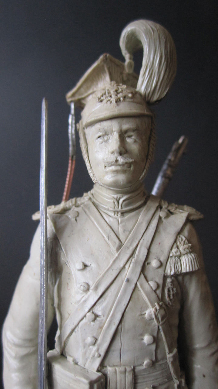 Sculpture: Private, army lancers, 1908-14, photo #6