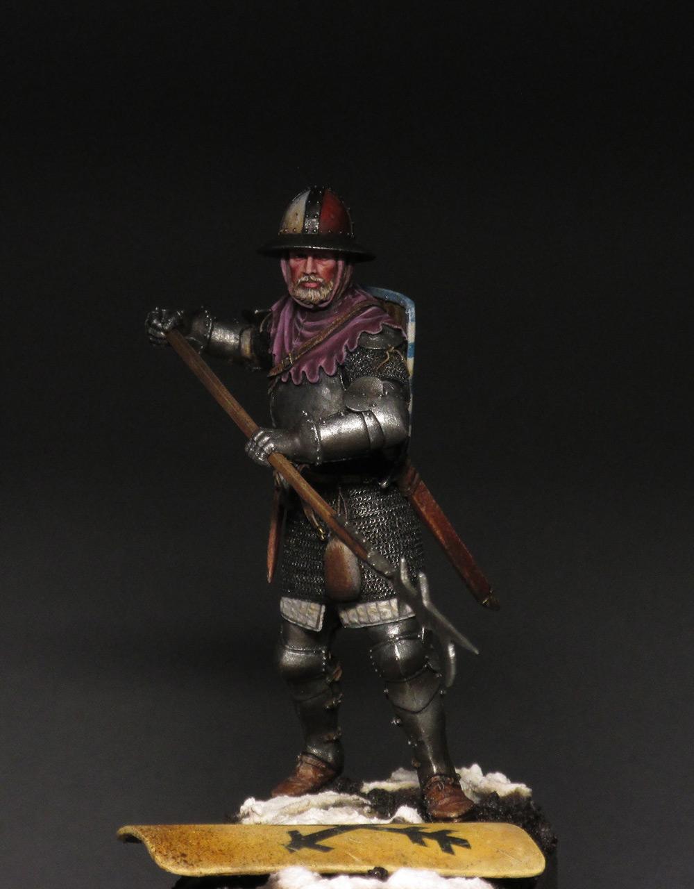 Figures: Medieval infantryman, photo #10
