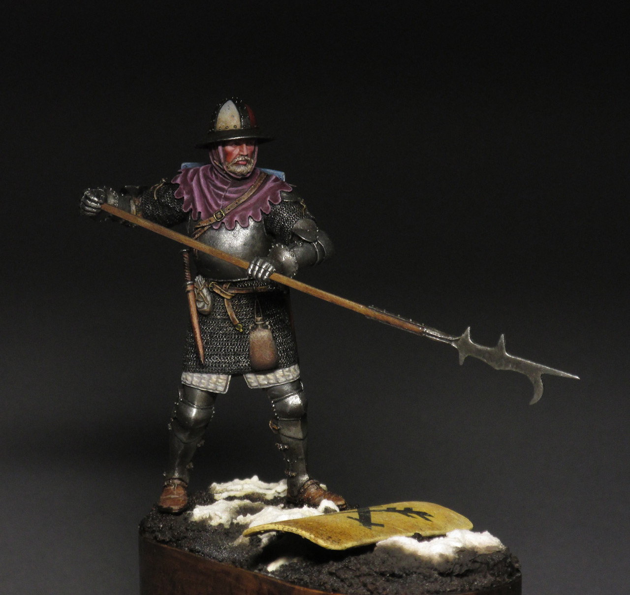 Figures: Medieval infantryman, photo #11