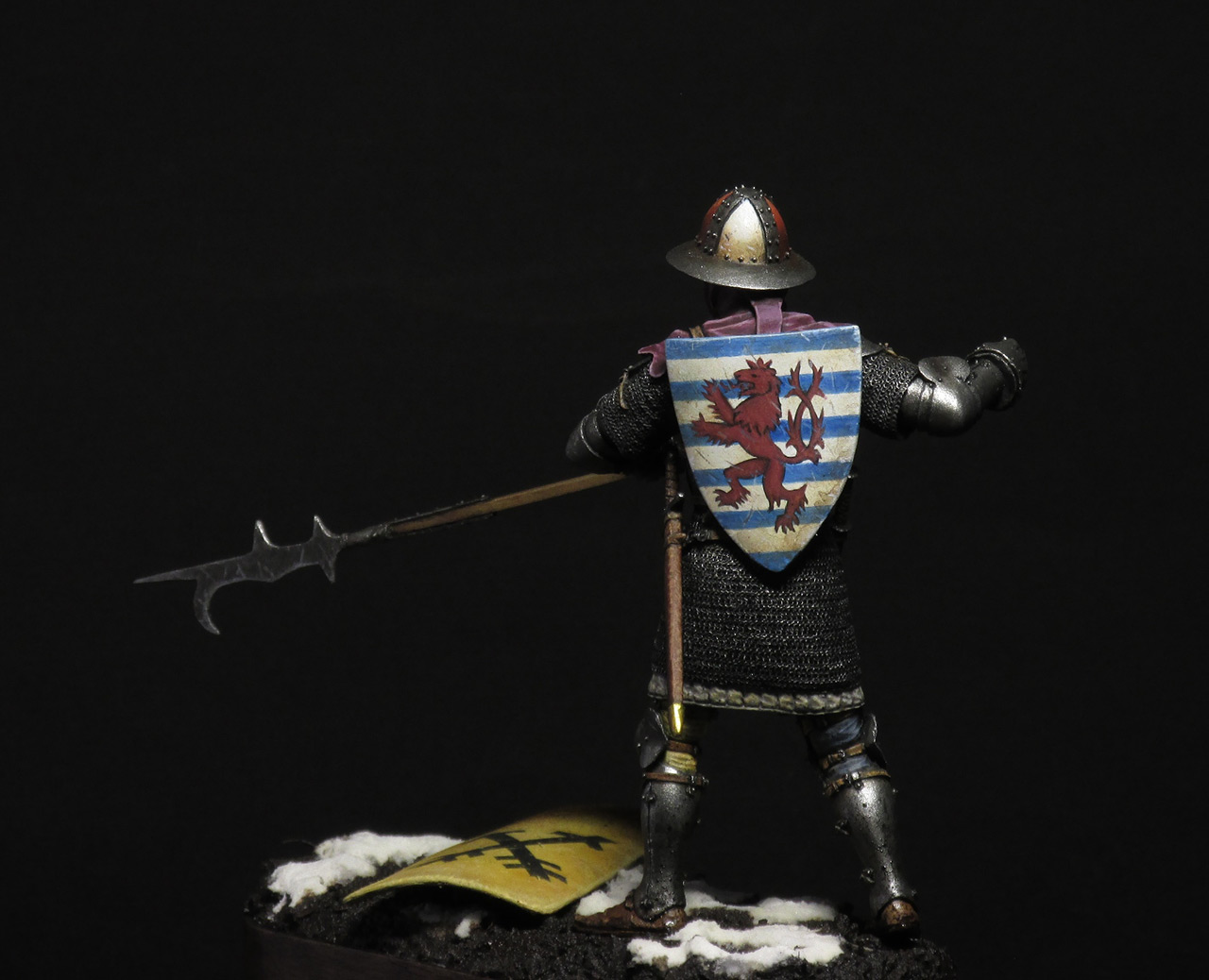 Figures: Medieval infantryman, photo #2
