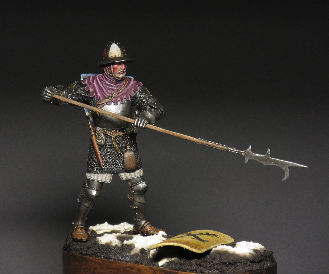 Figures: Medieval infantryman, photo #3